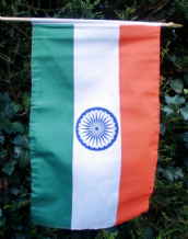 HAND WAVING FLAG - India